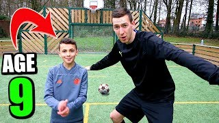 Download lagu THIS 9 YEAR OLD KID IS A FUTURE FOOTBALL STAR MP3