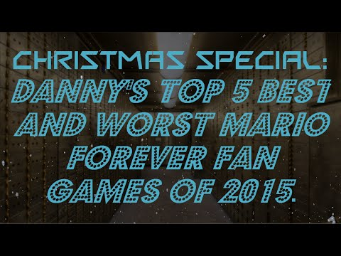 Danny's Top 5 Best And WORST Mario Forever Games Of 2015 [HD]