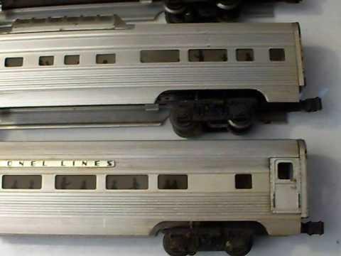 Postwar Lionel Passenger Cars Part 1 Youtube