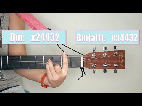TMT #6: Alternate Fingerings for Common Barre Chords - YouTube