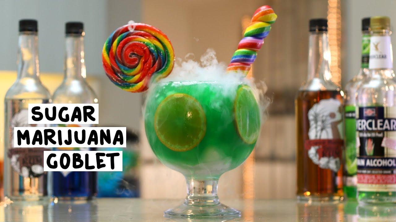 Sugar marijuana goblet tipsy bartender for Fish bowl drink tipsy bartender