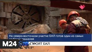 """""""Москва и мир"""": строительство БКЛ и запрет на чаевые - Москва 24"""