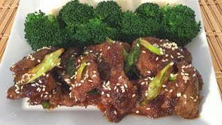 How To Make Mongolian Beef-Chinese Food Recipes-Restaurant Style