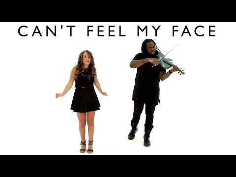 Can't Feel My Face - The Weeknd | Cover by Ali Brustofski & DSharp (Music Video)