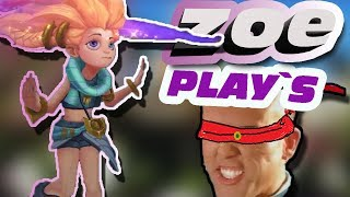 ZOE PLAY'S FUNNY MOMENTS | League of legends - DeivisForAll