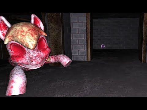 I WAS CHASED BY DEMON PONIES - Pinkie Pie's Cupcake Party - My Little Pony Horror Game