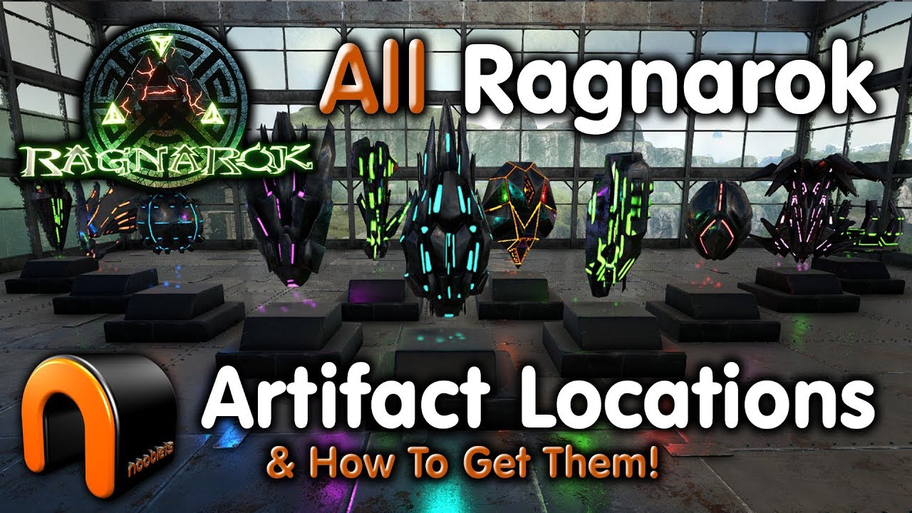 ARK - ALL RAGNAROK ARTIFACT LOCATIONS & How To Get Them!