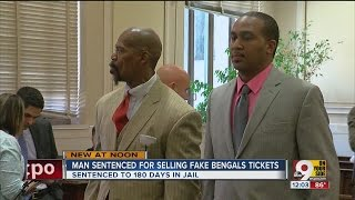 Men sentenced for selling fake Bengals tickets