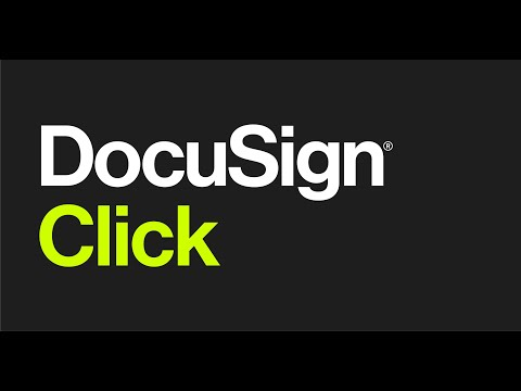 DocuSign Click