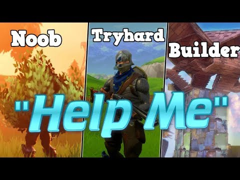 Fortnite Stereotypes! TIMMY HELPS A KID WIN HIS FIRST GAME..