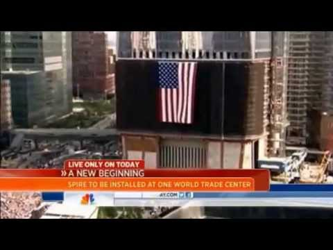 Today Show: Topping out of Freedom Tower