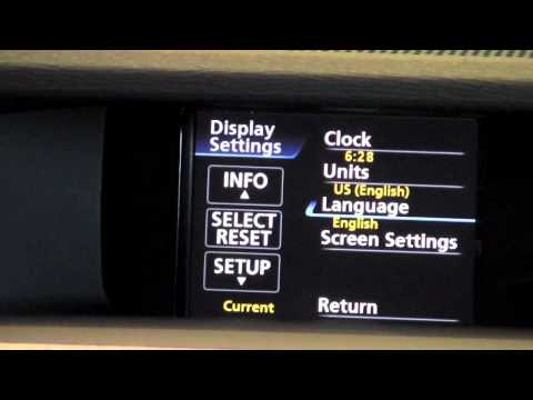 2011 | Toyota | Sienna | Multi-Information Display Settings | How To by Toyota City Minneapolis MN