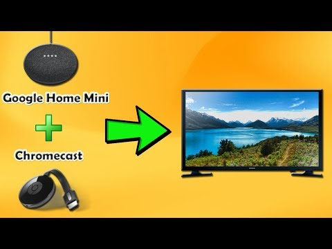 How do i connect my lg smart tv to google home mini