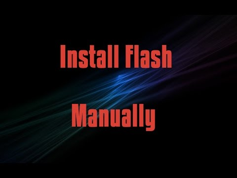 Manually Install Adobe Flash Plugin In Firefox Linux