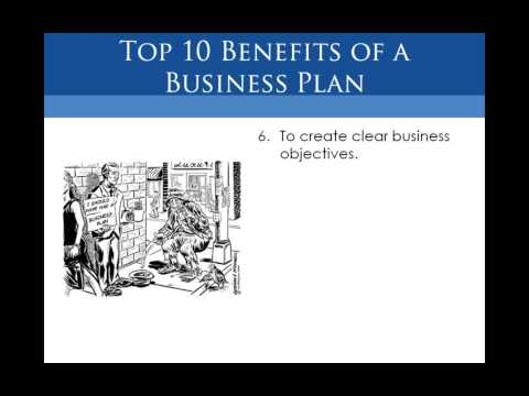 """Webinar - Business Plan 101   """"The top 10 benefits of a quality business plan """" HD"""