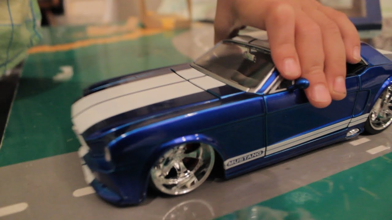 toy car kids review ford mustang bigtime muscle cars imagination youtube