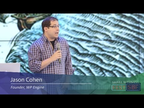 Small Business Festival Speaker Jason Cohen Founder WP Engine 2016