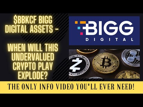 $BBKCF BIGG DIGITAL ASSETS - WHEN WILL THIS UNDERVALUED CRYPTO PLAY EXPLODE?