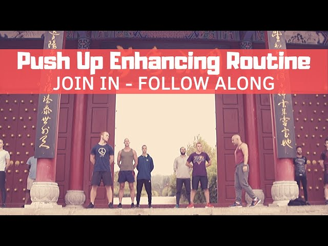 Push Up Help | Bring Sally Up Challenge Help