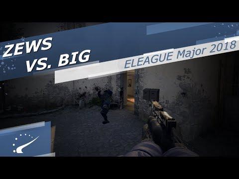zews vs. BIG - ELEAGUE Major 2018