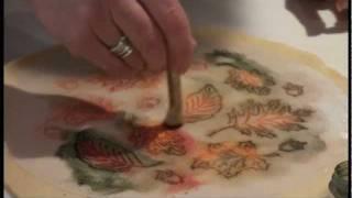 """painted"" Pie Crust"