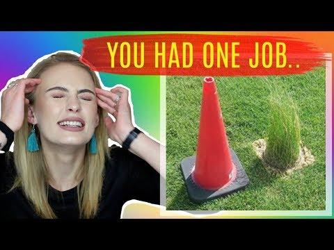 YOU HAD ONE JOB | Signe Kragh