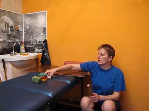 Разработка локтевого сустава после перелома - упражнения