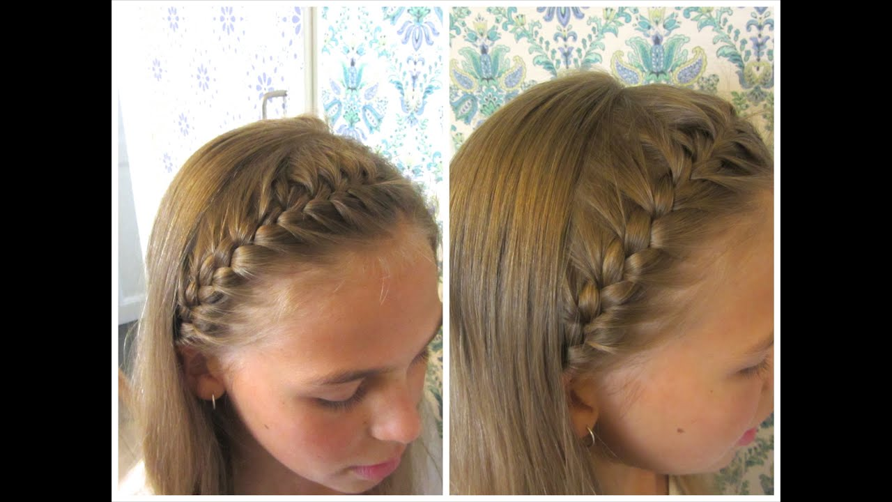 DIY French braided headband