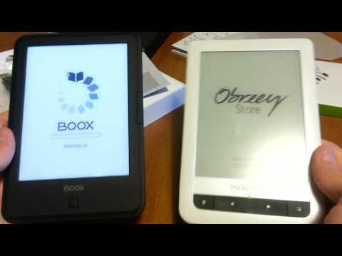 Посылка из Китая - электронная книжка ONYX BOOX (С67 ML Carta)