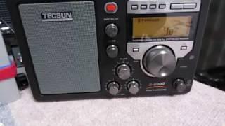 comparison of 2 TECSUN's Radios: S-8800 and S-2000