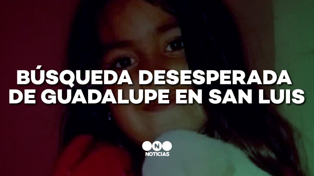 Download BÚSQUEDA DESESPERADA de GUADALUPE en SAN LUIS - Telefe Noticias