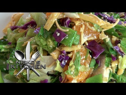 'CHEESECAKE FACTORY' CHINESE CHICKEN SALAD - Nicko's Kitchen