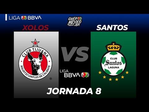 Club Tijuana Santos Laguna Goals And Highlights