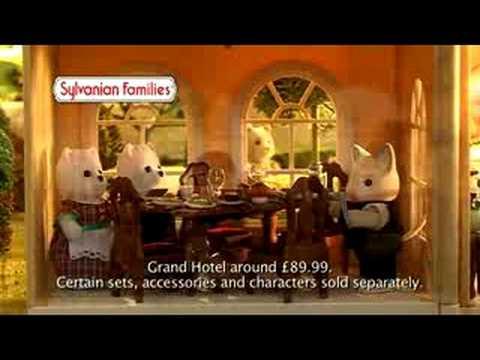 Sylvanian Families Grand Hotel Youtube