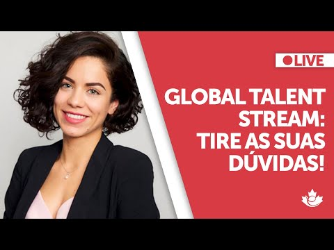 LIVE: Global Talent Stream - tire todas as suas dúvidas