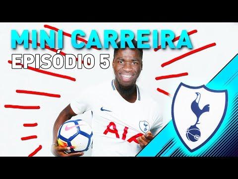 VINÍCIUS JR. É DO TOTTENHAM! REFORÇO PRA CHAMPIONS! | Mini Modo Carreira #5 - FIFA 18 - Tottenham