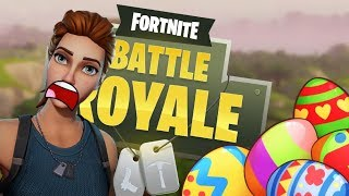SWIMMING?? - Fortnite: Battle Royale Easter Eggs/Glitches #1