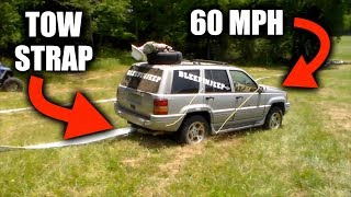 Can You Pull An Engine In 10 Seconds With A Tow Strap?