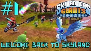 Welcome Back to Skyland - Skylanders Giants #1 (PS3, 2011)