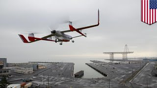 Self-flying drone can haul heavy cargo - TomoNews