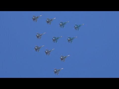День Победы  город Ржев 9 Мая 2020 года.