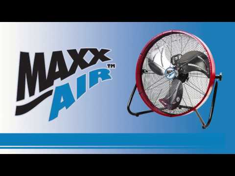 Hvpf 30 Maxxair 30 In High Velocity Pedestal Fan Asse