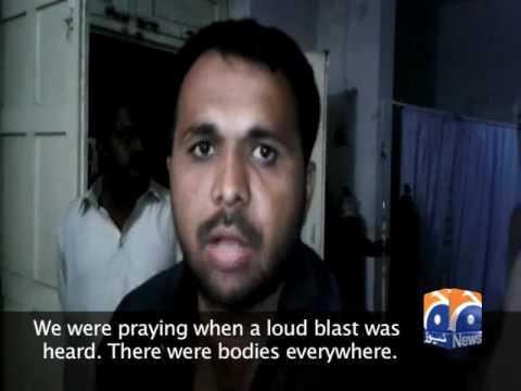 Eyewitnesses recount horror of Lal Shahbaz Qalandar shrine bombing