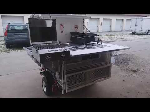 MY HOMEMADE FOOD CART 2017
