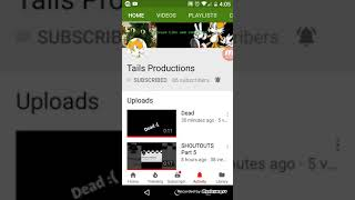 Gambar cover Shout out to Tails Productions