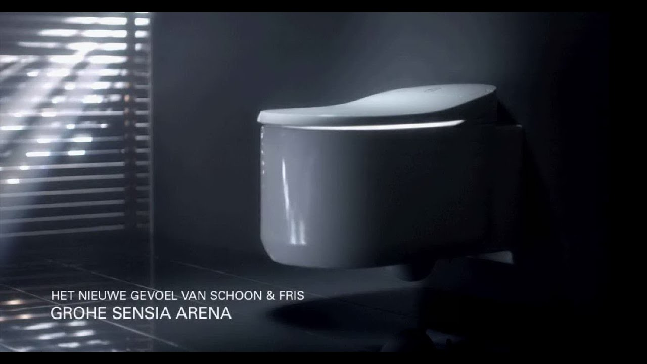 grohe s visie op de innovatieve sensia arena douche wc youtube. Black Bedroom Furniture Sets. Home Design Ideas