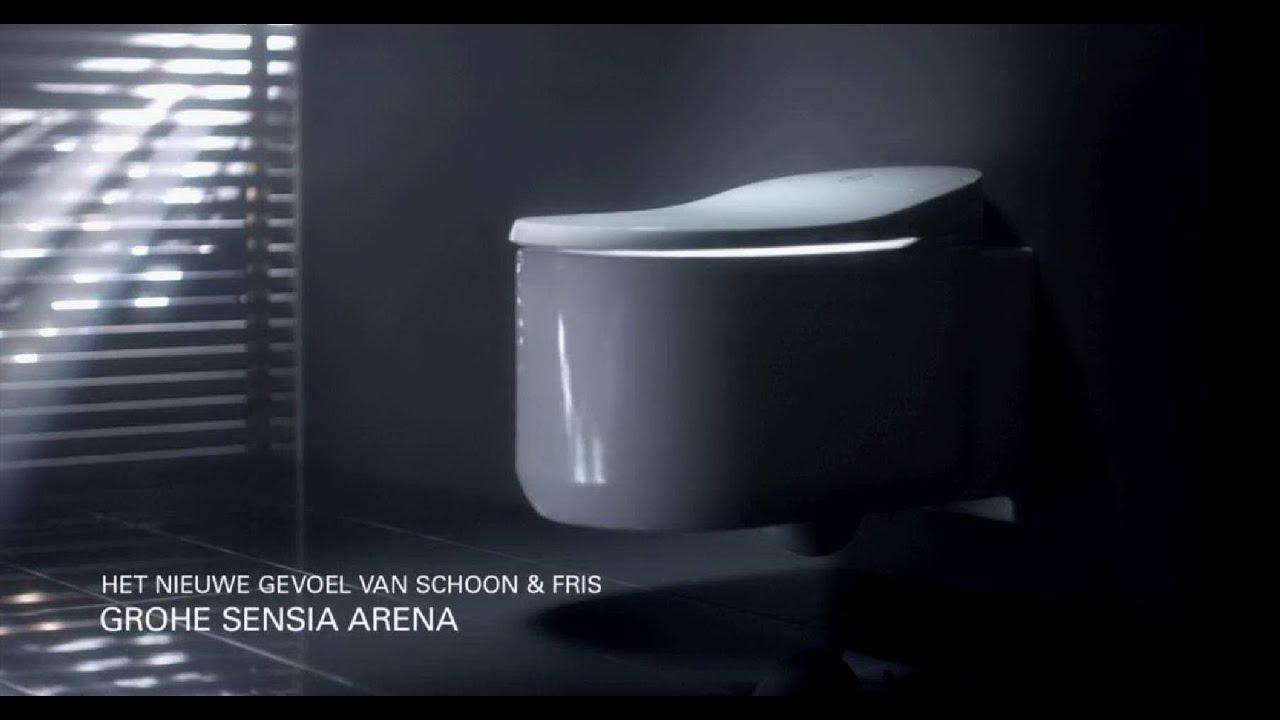 grohe s visie op de innovatieve sensia arena douche wc. Black Bedroom Furniture Sets. Home Design Ideas