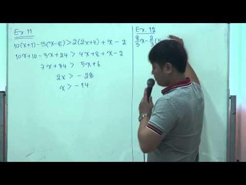 คณิต ม 3 เทอม 2 เรื่อง อสมการ part 3