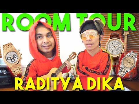 ROOM TOUR RADITYA DIKA #AttaGrebekRumah | EPS 2 | PART 2