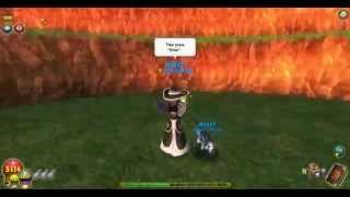 wizard101-How to spin while talking
